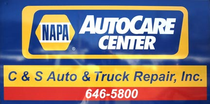 C&S Auto & Truck Repair, Inc., NAPA AutoCare Center